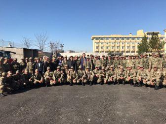 Bismil'de Güvenlik Korucuları Yemin Ederek Göreve Başladı