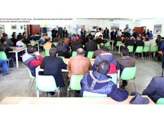 Belediye Temizlik Görevlileri İle Güvenlik Toplantısı