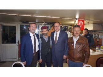 Ak Parti Eskişehir İl Başkanı Ünlü Vatandaşlarla Bir Araya Geldi
