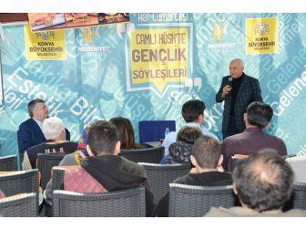 'Gençlik Söyleşilerine' Mustafa Kabakcı Konuk Oldu
