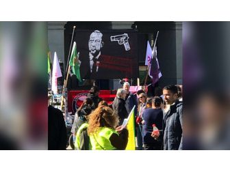 Terör Örgütü İsviçre'de Erdoğan'ı Hedef Gösterdi