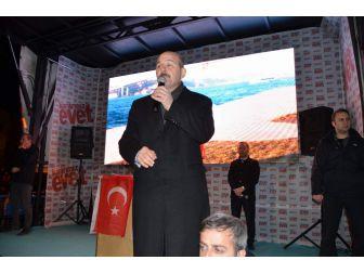 İç İşleri Bakanı Süleyman Soylu Memleketi Trabzon'da