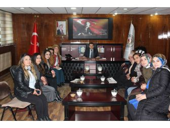 Ak Parti'li Kadınlardan Kaymakam Uzan'a Ziyaret