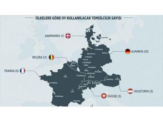 Avrupa'da Oy Verme İşlemleri Başlıyor