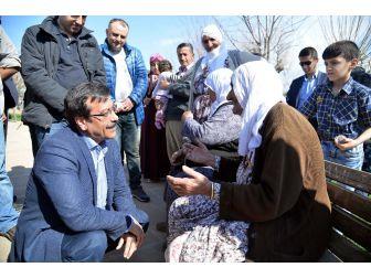 Başkan Atilla, Eğil'de Halkla Buluştu