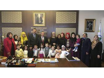 Pursaklar Belediye Başkanı Çetin'e 'Nezaket' Ziyareti