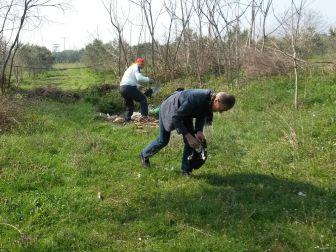 Bursalı İş Adamları Çevre İçin 3 Konteynır Çöp Topladı