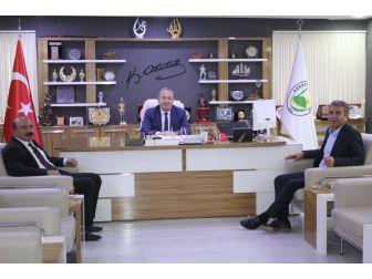 Köse Ve Erayhan'dan Başkan Şahiner'e Ziyaret