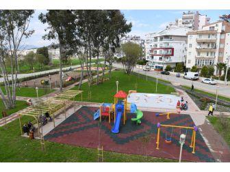 Konyaaltı Liman Mahallesi'nde 17. Park Hizmete Açıldı