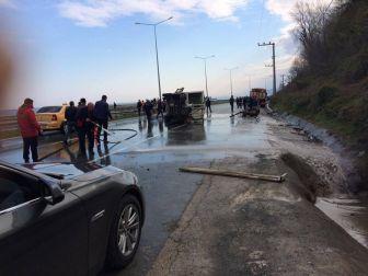 Rize'de Trafik Kazası: 1 Ölü, 1 Ağır Yaralı