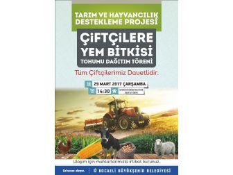Büyükşehir, Çiftçilere Tohum Dağıtımı Yapacak