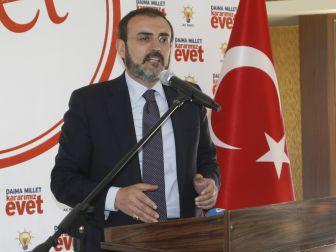 AK PARTİ Sözcüsü'nden Topbaş'ın istifasına ilişkin olay açıklama