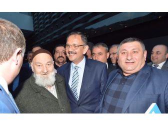 Bakan Özhaseki Kayseri Ve Nevşehir Dernek Üyeleriyle Buluştu