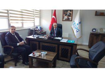 Pınarhisar Kaymakamı'ndan Genel Müdür Başa'ya Ziyaret