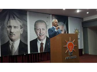 Ak Parti Genel Başkan Yardımcısı Mustafa Ataş Söke'de