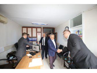 Milletvekili Boynukara'dan Başkan Kutlu'ya Ziyaret