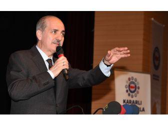 """Kurtulmuş: """"Kürt Kardeşlerimiz Evet Oyu Vererek Türkiye'nin Önünü Açacak Ve Pkk Fiilen Bitecek"""""""