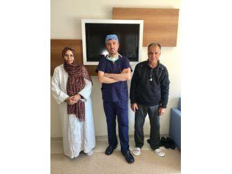 Libyalı Kadın Hasta İzmir'de Şifa Buldu