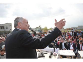 Başkan Karalar, Chp Genel Başkan Yardımcısı Bingöl İle Park Açılışı Yaptı