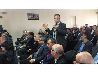 Hayrabolu'da Muhtarlar Toplantısı
