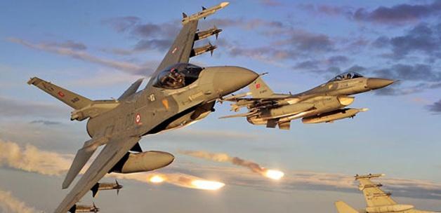 Kuzey Irak'a Düzenlenen Hava Harekatında 4 Hedef İmha Edildi