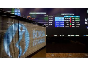 Borsa Günü 0,10'luk Düşüşle Tamamladı