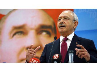 CHP Genel Başkanı Kılıçdaroğlu, DİSK, KESK, TMMOB veTTB Başkanlarını Kabul Etti