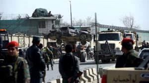 Kabil'de Nato Konvoyuna bombalı saldırı