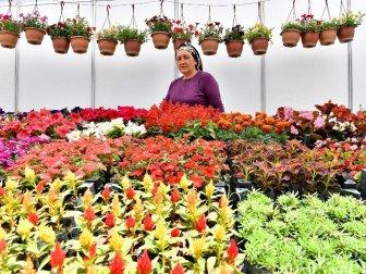"""Çiçeğin Başkenti Bayındır'da  """"Çiçek Festivali"""""""