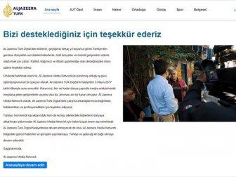 El Cezire Türk Yayınlarına Son Verdiğini Duyurdu