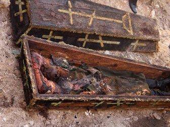 Alantar'dan Asırlık Cesedin Kılıcının Kaybolduğu İddialarına Yalanlama