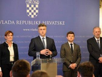 Hırvatistan'da Siyasi Kriz! Karışıklık var