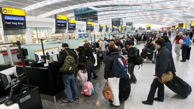 Londra'da şok! Uçuşlar Askıya Alındı