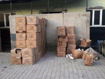 Hakkari, Yüksekova ve Şemdinli'de Kaçakçılık Operasyonu