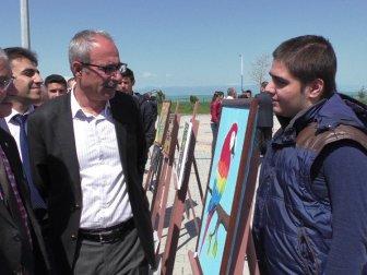 Beyşehir'de Özel Öğrencilerin Sergisi Açıldı