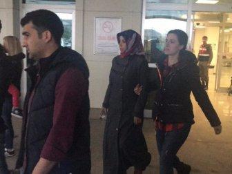 FETÖ'den Aranan Kadın Çilimli Cezaevindeki Eşini Ziyarete Giderken Yakalandı