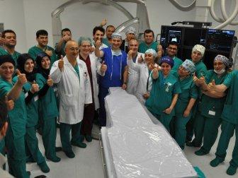 Şehir Hastaneleri Arasında İlk Anjiyo Isparta Şehir Hastanesi'nde
