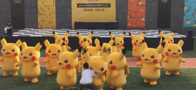 Güney Korede'ki Pokemon Dans Festivalin'de talihsiz kaza!