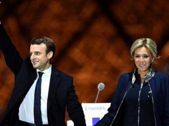 Cumhurbaşkanı Macron'un Zaferi Manşetlerde