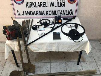 Kırklareli, Demirköy'e Bağlı Balaban Köyünde Kaçak Kazı