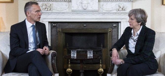 NATO'dan Kritik İngiltere ziyareti! Stoltenberg, May İle Görüştü