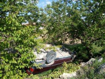 Malatya, Seyir Halindeki Otomobil Kayısı Bahçesine Uçtu: 1 Yaralı