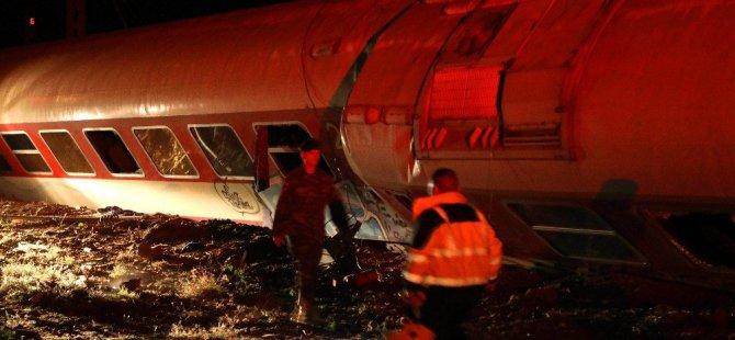 Yunanistan'da Tren kazası ölü ve yaralılar var