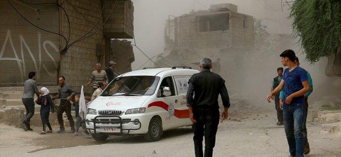 Suriye'de Doğu Guta'da saldırı ; 6 Ölü 30 yaralı var