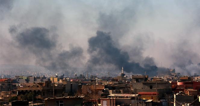 Musul'da İntihar Ve Hava Saldırıları: 35 Ölü, 64 Yaralı var