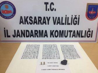 Aksaray'da Jandarmadan Tarihi Eser Operasyonu: 2 Kişi Gözaltına Alındı