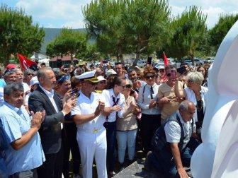 Aydın, Didim'de Zübeyde Hanımın Heykeli 19 Mayıs'ta Adının Verildiği Parkta Açıldı