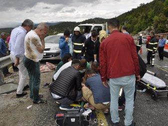 Konya-Antalya Karayolunda Kaza: 2 Ölü, 3 Yaralı
