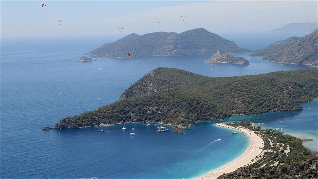 Babadağ'da Yamaç Paraşütüne Çinli Turistlerden büyük İlgi