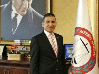 Mersin Barosu Başkanı Ali Er'den İdam Açıklaması